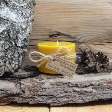 Świeca z wosku pszczelego