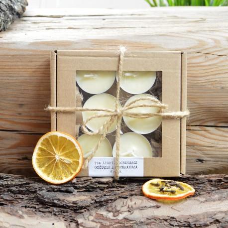 Podgrzewacze Tealight zapachowe kartonik