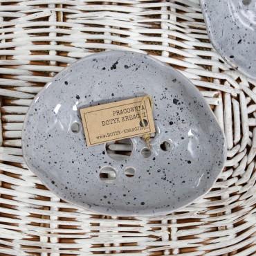 Mydelniczka ceramiczna granitowa Dotyk Kreacji